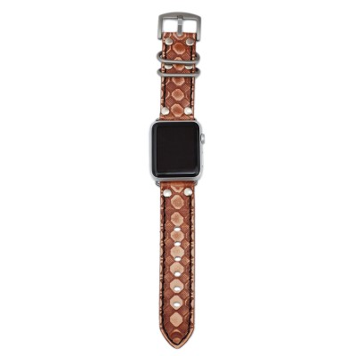 Brown Apple Watch Strap Leather - 38mm, 40mm, 42mm, 44mm (SKU: PN0743AW)