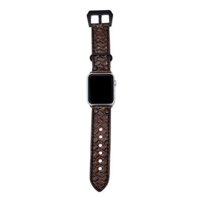 Apple Watch Strap Leather - 38mm, 40mm, 42mm, 44mm (SKU: PN0750AW)