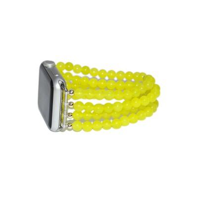 Jade Apple Watch Strap - 38mm, 40mm, 42mm, 44mm (SKU: PN0080AW)