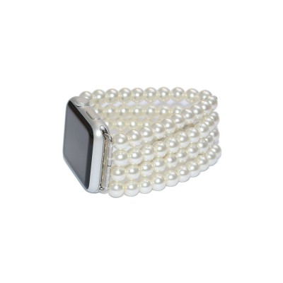 Glass Pearl Apple Watch Band - 38mm, 40mm, 42mm, 44mm (SKU: PN0136AW)