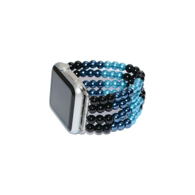 Glass Pearl Apple Watch Band - 38mm, 40mm, 42mm, 44mm (SKU: PN0141AW)