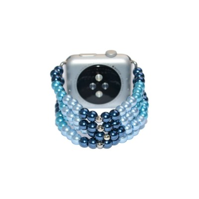 Glass Pearl Apple Watch Band - 38mm, 40mm, 42mm, 44mm (SKU: PN0142AW)