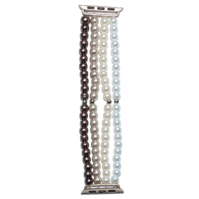 Glass Pearl Apple Watch Band - 38mm, 40mm, 42mm, 44mm (SKU: PN0202AW)
