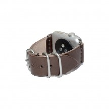 Brown Leather Apple Watch Band - 38mm 40mm 42mm 44mm – PN0255AW