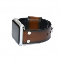 Brown Genuine Leather Apple Watch Band - 38mm 40mm 42mm 44mm – PN0273AW