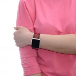 Red Apple Watch Band - 38mm, 40mm, 42mm, 44mm (SKU: PN0325AW)