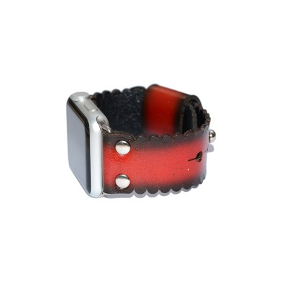 Red Apple Watch Band - 38mm, 40mm, 42mm, 44mm (SKU: PN0337AW)