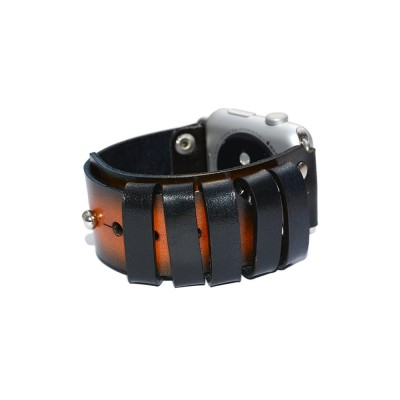 Genuine Leather Apple Watch Band - 38mm, 40mm, 42mm, 44mm (SKU: PN0348AW)