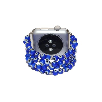 Lampwork Beads Apple Watch Strap - 38mm, 40mm, 42mm, 44mm (SKU: PN0379AW)
