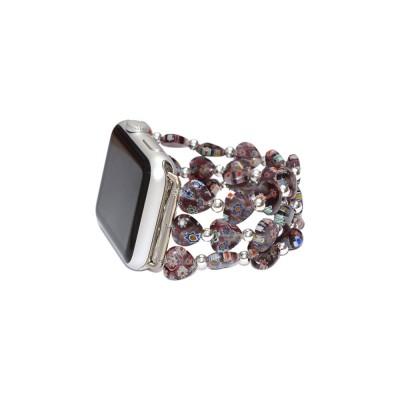 Lampwork Glass Beads Apple Watch Band 38mm - 42mm