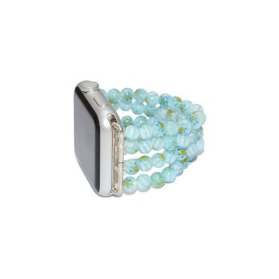 Lampwork Beads Apple Watch Band - 38mm, 40mm, 42mm, 44mm (SKU: PN0386AW)
