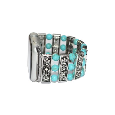 Turquoise Apple Watch Band - 38mm, 40mm, 42mm, 44mm (SKU: PN0396AW)