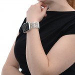Glass Pearl Apple Watch Band - 38mm, 40mm, 42mm, 44mm (SKU: PN0399AW)