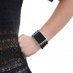 Glass Pearl Apple Watch Band - 38mm, 40mm, 42mm, 44mm (SKU: PN0404AW)