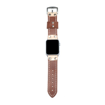Genuine Leather Apple Watch Band - 38mm, 40mm, 42mm, 44mm (SKU: PN0542AW)