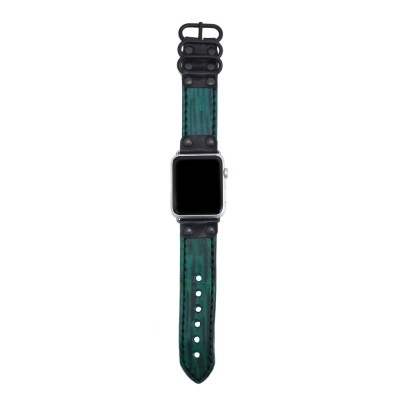 Genuine Leather Apple Watch Band - 38mm, 40mm, 42mm, 44mm (SKU: PN0570AW)