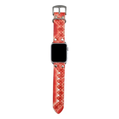 Genuine Leather Apple Watch Band - 38mm, 40mm, 42mm, 44mm (SKU: PN0596AW)