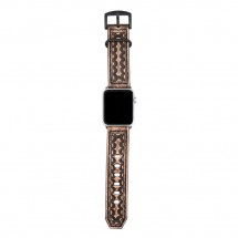 Brown Leather Apple Watch Band - 38mm 40mm 42mm 44mm – PN0604AW