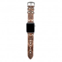 Brown Apple Watch Strap Leather