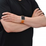 Tan Apple Watch Strap Leather