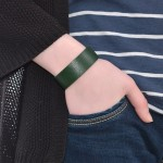 Green Leather Bracelet (SKU: PN0016L)