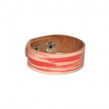 Red Leather Bracelet – PN0089L