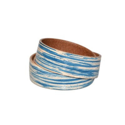 Blue Double Wrap Bracelet (SKU: PN0100L)