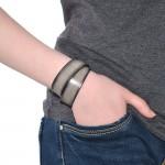 Double Wrap Gray Bracelet (SKU: PN0115L)