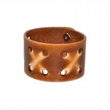 Brown Wide Leather Bracelet – PN0245L