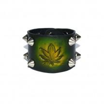 Wide Leather Bracelet – PN0385L