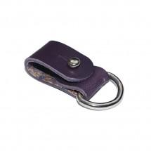 Purple Leather Cord Organizer – PN0416L