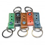 Black Leather Key Holder (SKU: PN0436L)