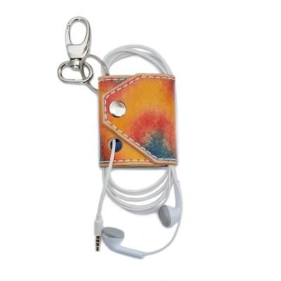 Genuine Leather Headphone Case (SKU: PN0572L)