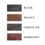 Black Leather Keychain (SKU: PN0405L)