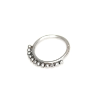 Daith Ring Piercing Jewelry - Surgical Steel (SKU: PN0178SSH)