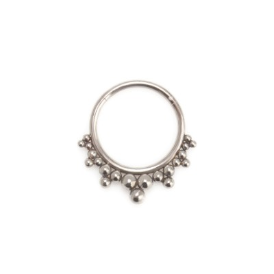 Daith Ring Piercing Jewelry - Surgical Steel (SKU: PN0199SSH)