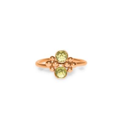Nose Ring Hoop with CZ gemstones - Surgical Steel (SKU: PN1107SSH)