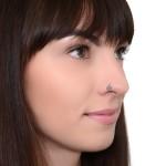 Nose Ring Hoop - Surgical Steel (SKU: PN1133SSH)