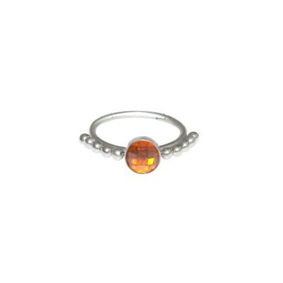 Cartilage Earring CZ - Tragus jewelry, conch piercing, rook piercing hoop, helix earring clicker