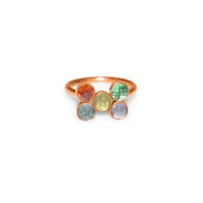 Tragus Clicker Ring with CZ gemstone - Surgical Steel (SKU: PN0131SSH)