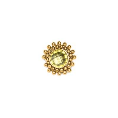 Dermal Top with CZ gemstone - Surgical Steel (SKU: PN1554SSH)