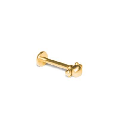 Lip Labret Piercing Jewelry - Surgical Steel (SKU: PN3203-2SSH)