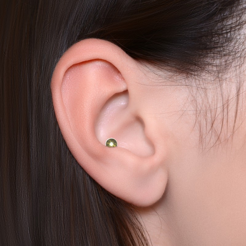 Cartilage Earring Stud With Cz Pn3214 1ssh Buy At Affordable Price