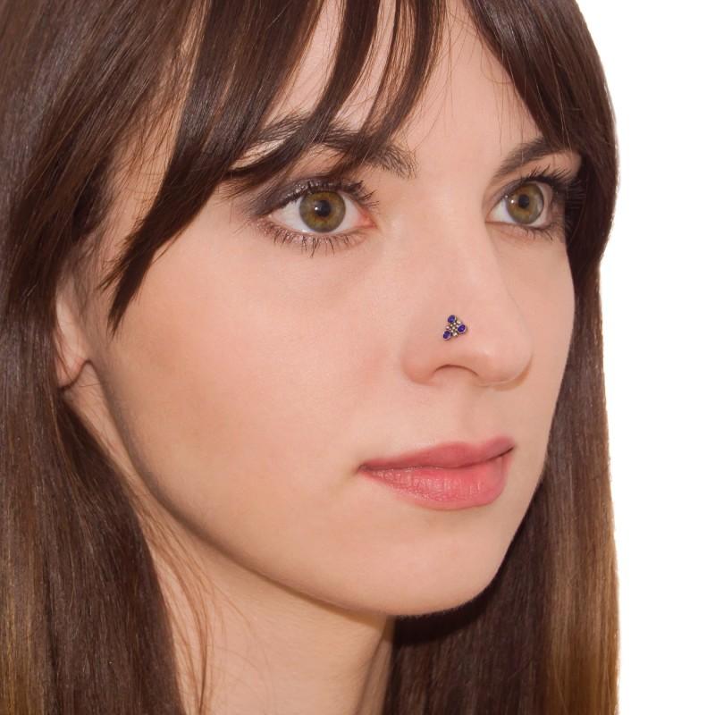 Nose Ring Stud Surgical Steel Nose Piercing Nostril Stud