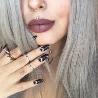 Nose piercing, Septum piercing and lip piercing