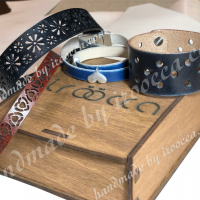 All products are packed in wooden boxes for free, you get a box as a gift! Chokers pn0497l & pn0544l
