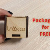 All products are packed in wooden boxes for free, you get a box as a gift!