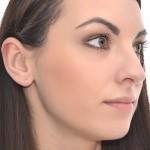 Textured Cartilage Ring - Sterling Silver either or Rose Gold filled or Gold filled (SKU: PN0069P)