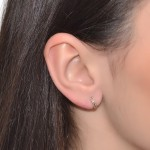 Gold Tragus Ring - Gold filled either or Sterling Silver (SKU: PN0279P)